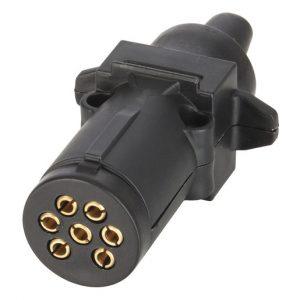 Round light plug 7 pins small