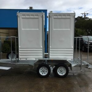 Custom Trailer (Mobile Toilet)